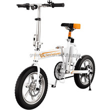 "Airwheel R5 CE approved fat tire folding e-bike for adult ; Ce approved 16"" electric bike 2017"