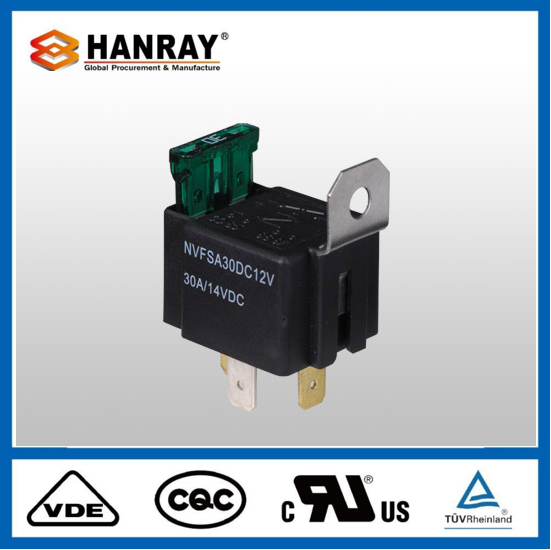 Fashion Design Car Auto 30A Power 12V 40A 5 Pin 12 Volt Relay
