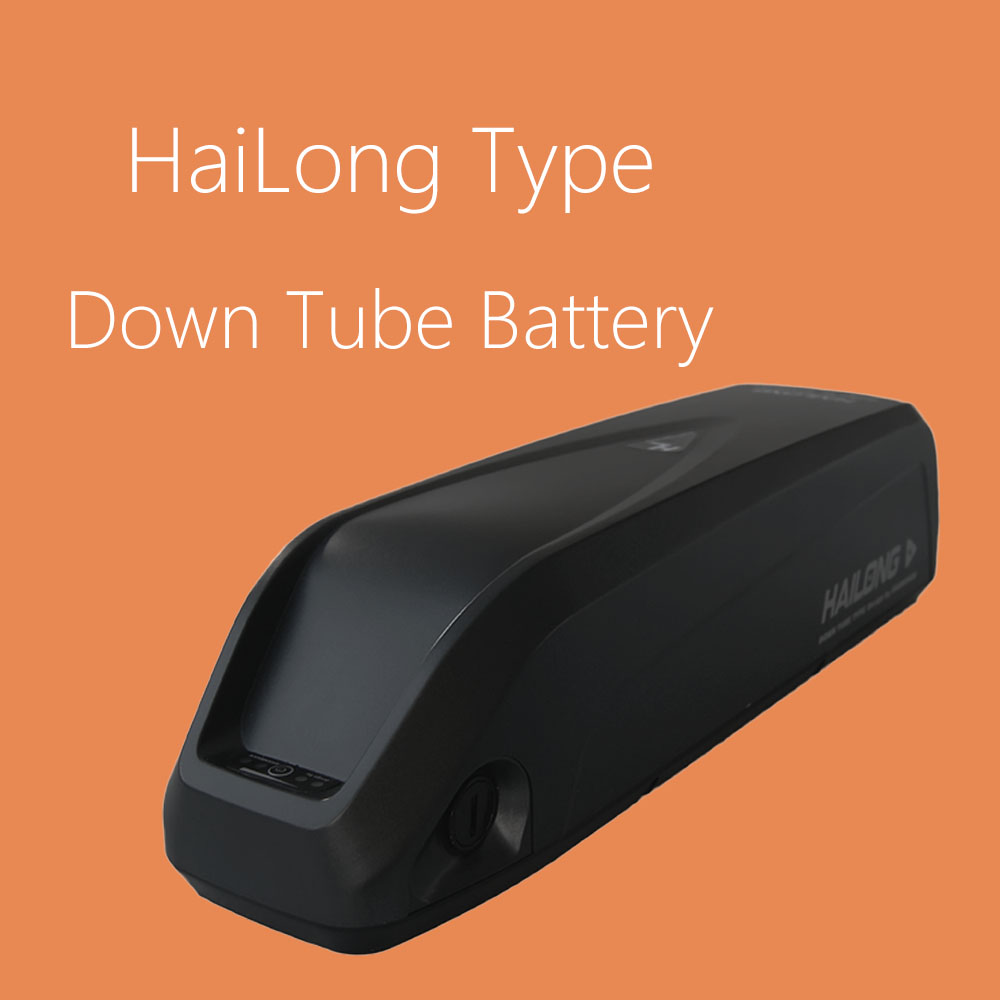Green energy sources supply Hailong down tube mounted ebike battery with CE certificate