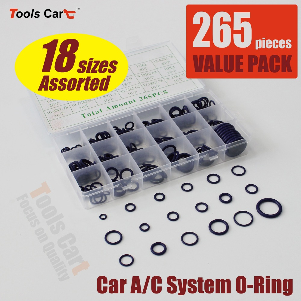 Pack of 265 pieces Car A/C System <strong>Rubber</strong> O Ring (SR-265)