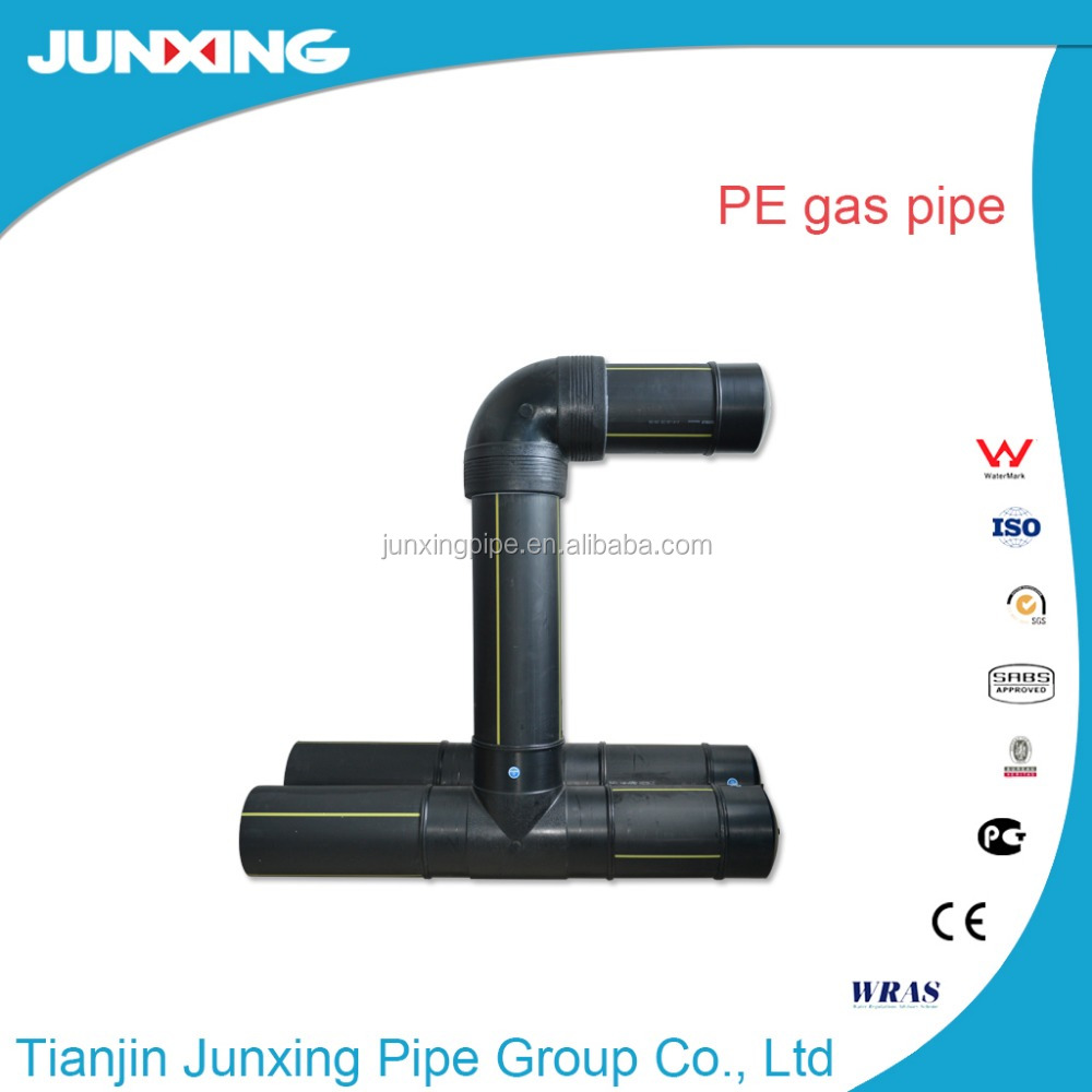 PE underground drainage pipe poly pipe hot sale pe gas pipe/tibe