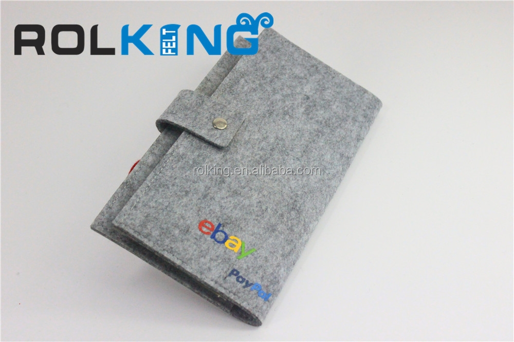 China make non woven felt wallet