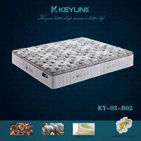 Memory foam thick pillow top mattress KY-03-B02