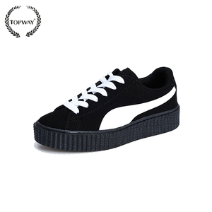 2017 Lover fashion casual sports shoes popular female shoes woman thick outsole