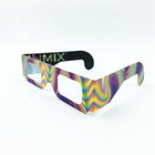Cheap Paper 3D Firework Diffraction Glasses For Sale