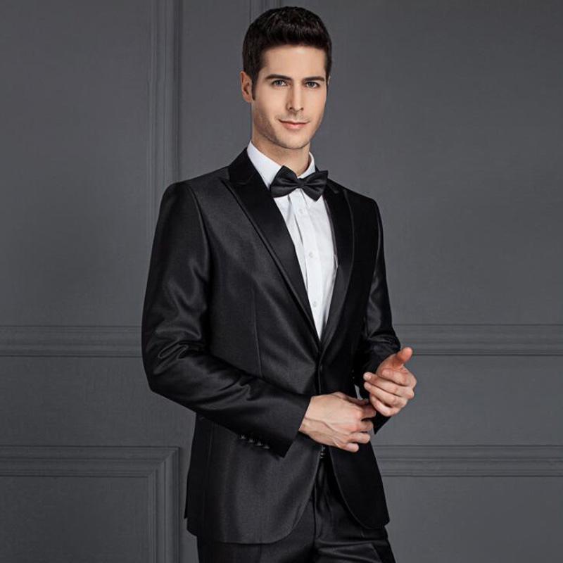 Suits For Wedding.Black Men Suit For Wedding Slim Fit Satin Office Mens Tuxedo Suits Buy Mens Tuxedo Suit Black Men Suit For Wedding Mens Office Suit Product On