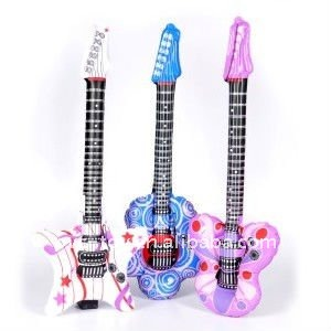 Inflatable Rock Star Pink Guitars