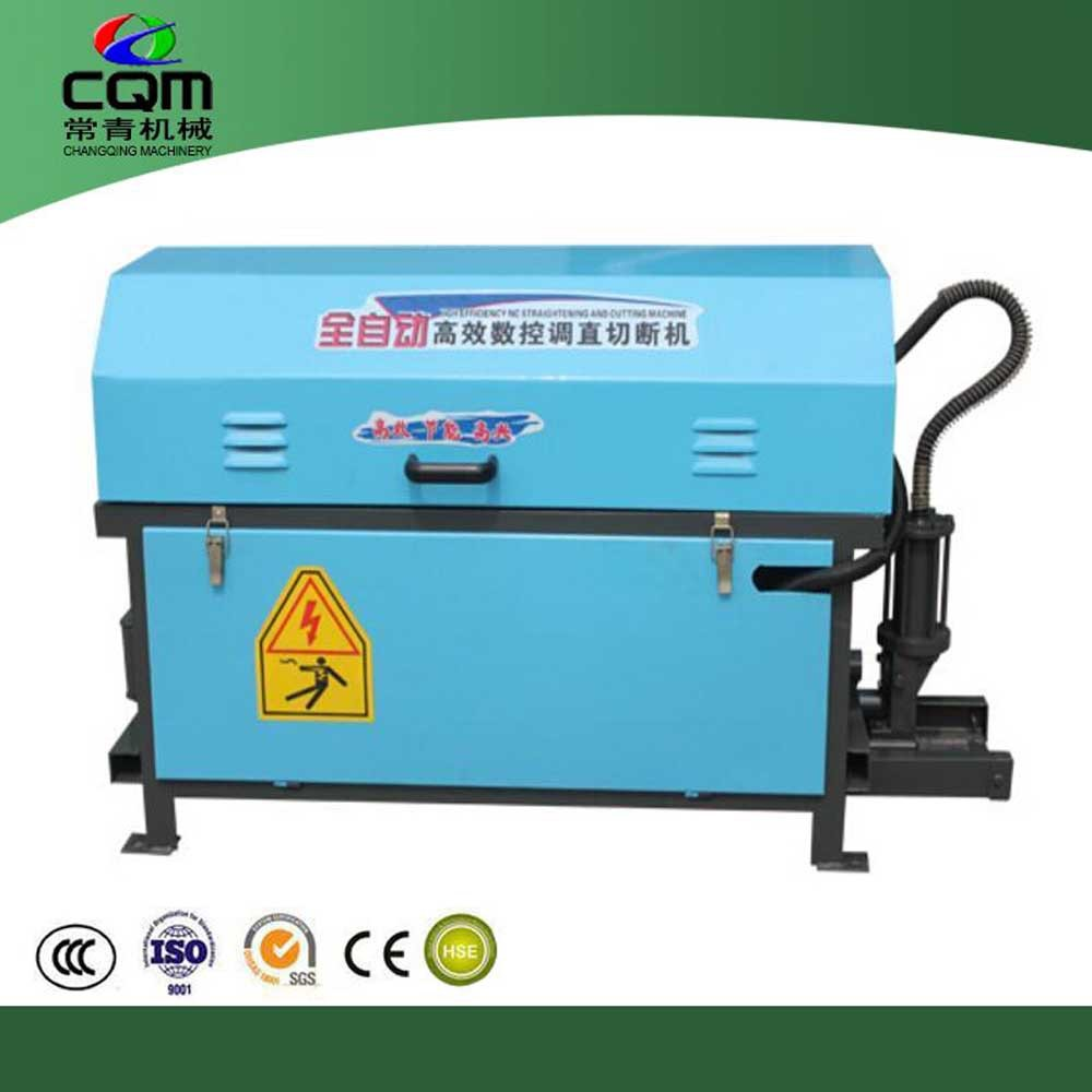 Automatic wire straightener cutter steel wire straightener and cutter