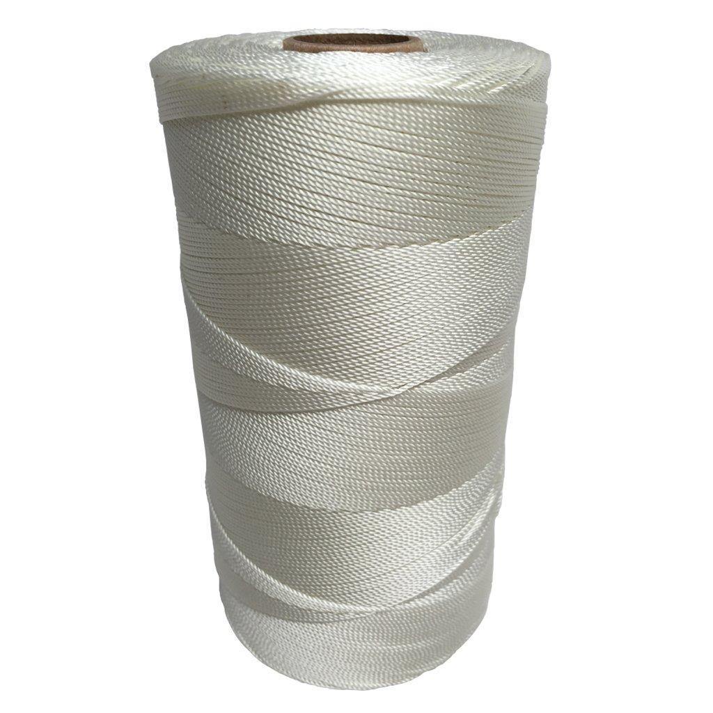 SGT KNOTS Twisted Nylon Seine Twine - #6, #7, #9, #12, #15, #18, #21, #24, #30, #36, #42, #48, #60, #72, #96, #120 (1 Pound - #7 - 3,220 feet)