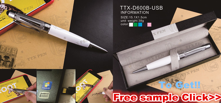 High quality business gift Metal roller ball pen with stylus