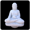 Indian style indoor antique marble buddha