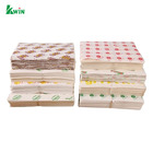 New Waterproof Craft Color Print Gift Wrap A4 Fast Food Sandwich Products Wrapping Kraft Paper