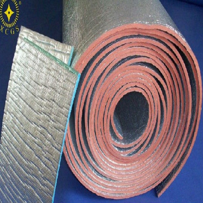 Self adhesive aluminium foil xpe foam insulation xpe for Pink insulation r value
