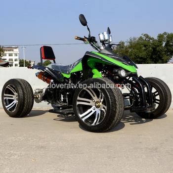 Eu Standard 4 Wheeler Kawasaki Quad Bike 350cc Racing Atv With ...