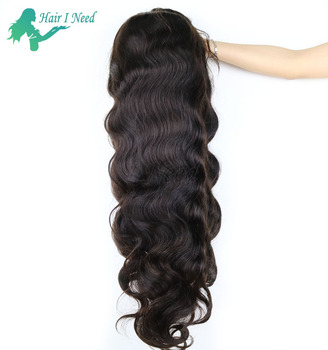 Super Long Tangle Free 100% Human Hair Body Wave Extensions Halle Berry Wigs Styles