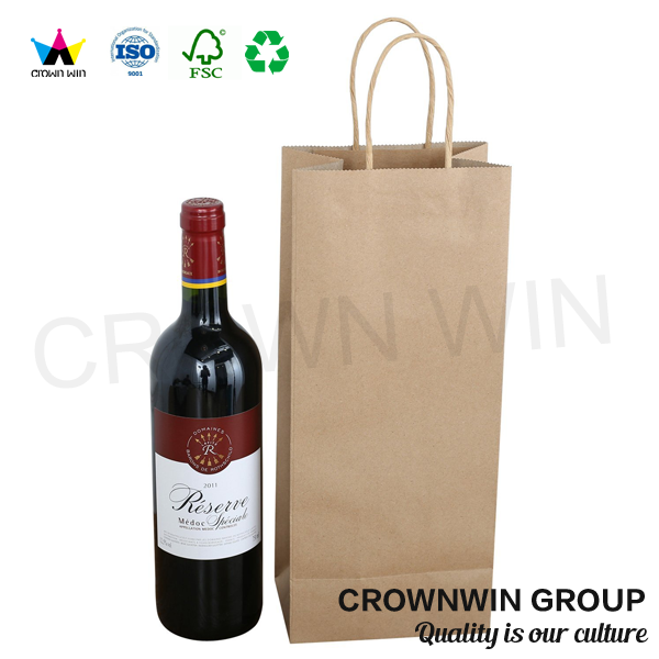 crown win paper carry hand bag factory