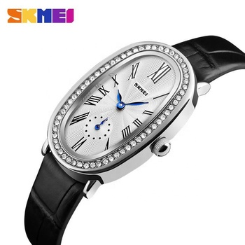 Dropship SKMEI 1292 china simple women quartz leather wrist watch ladies watches for girls