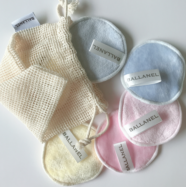 Cosmetische bamboe remover pad organische make-up remover pads