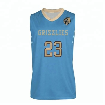 17ce2443 Sublimation color blue best basketball jersey design your own basketball  uniform