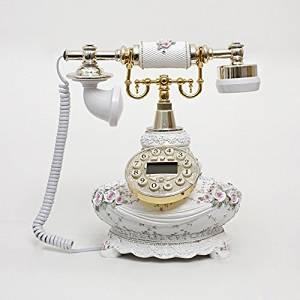 JQYD Pierre villa rural telephone landline European antique telephones vintage antique telephones Gifts , B