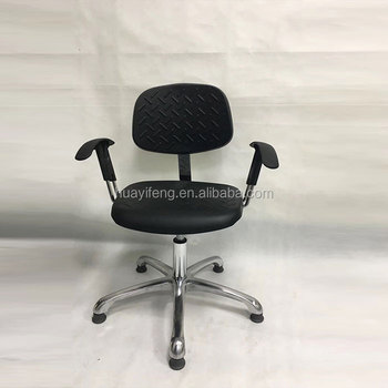 Brilliant Laboratory Furniture Ergonomic Office Chair Esd Pu Leather Computer Round Lab Chairs Stool With Armrest And Wheels Buy Chair Lab Computer Lab Ibusinesslaw Wood Chair Design Ideas Ibusinesslaworg