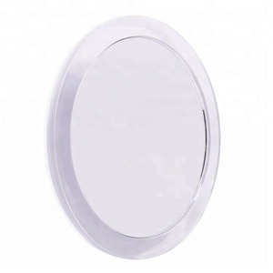 15X Magnifying Suction Cups Mirror Easy Mounting in Acrylic Frame for bathroom