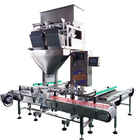 Corrugated Carton Box Packaging Machine Automatic Cardboard Paper Box Packing System By 2heads Weigher