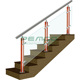 Villa/House Use porch railing options glassmetal balustrade systems wood stair