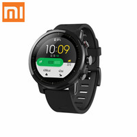 Global version Xiaomi Huami Amazfit Stratos Smart sports watch 2 verison 1.34 Inch 2.5D Screen 5ATM Waterproof-Black
