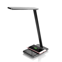 Multifunction folding table desk 2 in 1 wireless charger lamp led reading lamp for home