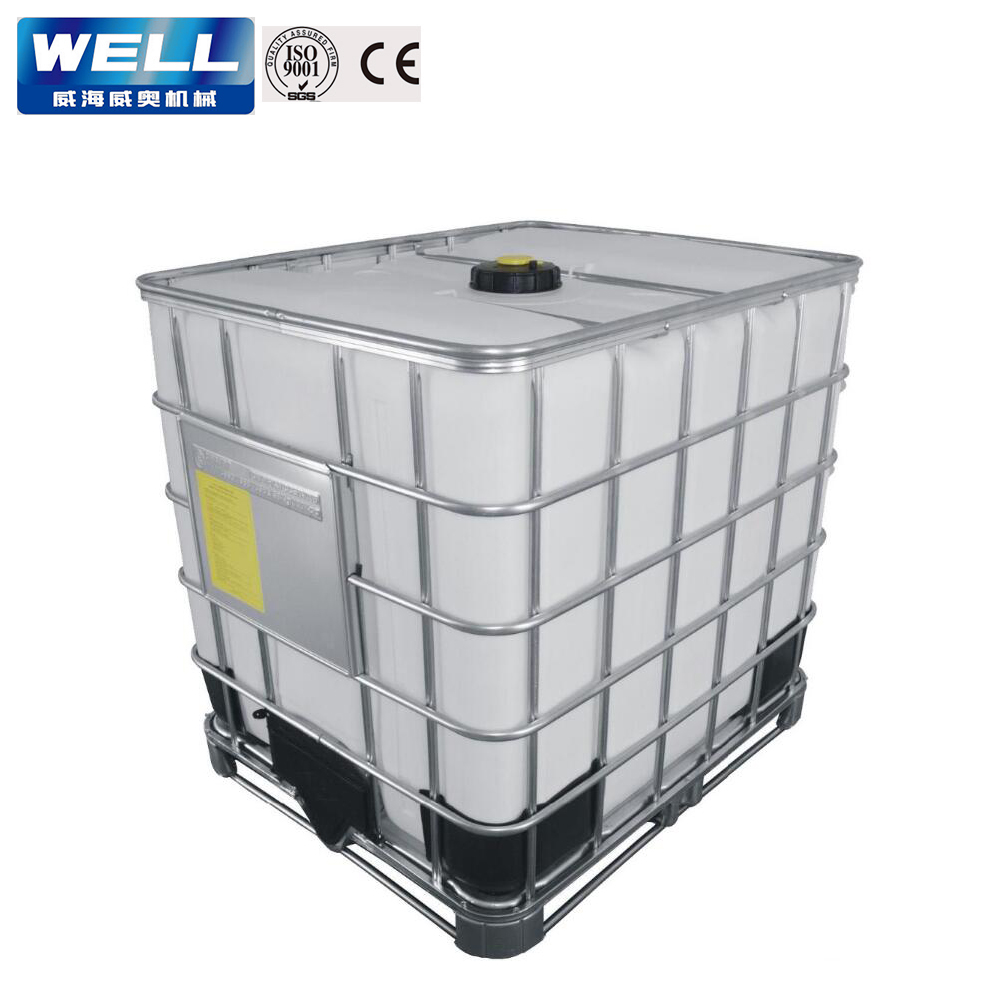 1000kg IBC tote for packing formic blow molding machine
