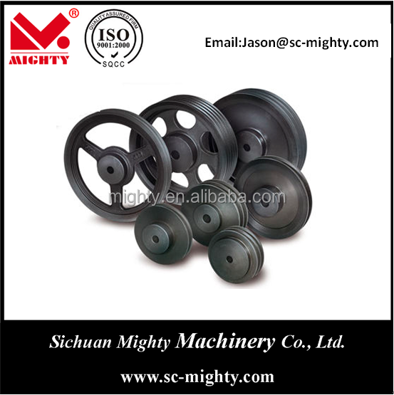 sand steel casting pulley pulley for dc motor pulleys for sale