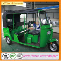 2014 New Design Gasoline Three Wheeler India Bajaj Auto Rickshaw for Sale/motor tricycle Taxi/three wheeler CNG auto rickshaw