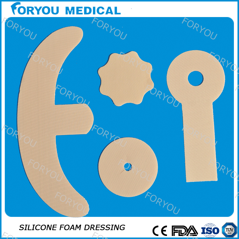 Foryou Medical new products adhesive silicone breast the transparent silicone gel scar sheet oem for keloid treatment