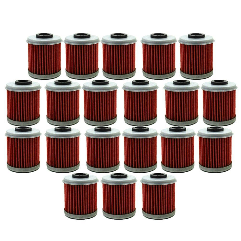 TC-Motor 20pcs/Pack Fuel Filters Oil Filter For Honda Dit Bike Motor HUSQVARNA CRF150R CRF250R TC250R TXC250R TXC310R Motocross