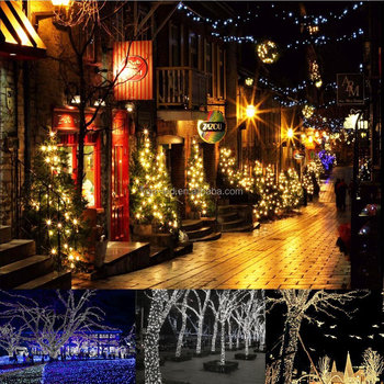 holiday decorative covers solar string light for christmas new year plastic party decoration 50100