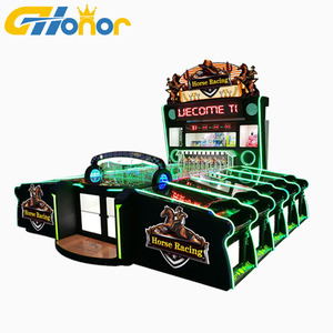 Colorful Booth Carnival Game Machine Entertainment Amusement Redemption Game Horse Racing Carnival Machine Hot Sale In Europe