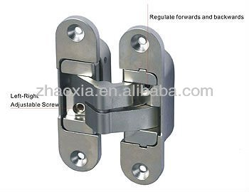 Adjustable Exterior Door Hinges (3 Way Adjustable Concealed Hinge) For Big  Wooden Doors