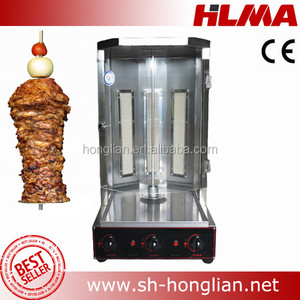 gas chicken shawarma machine price