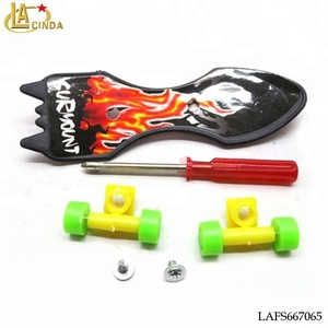Cheap mini toys diy set plastic skateboard deck,kids mini skateboard toy