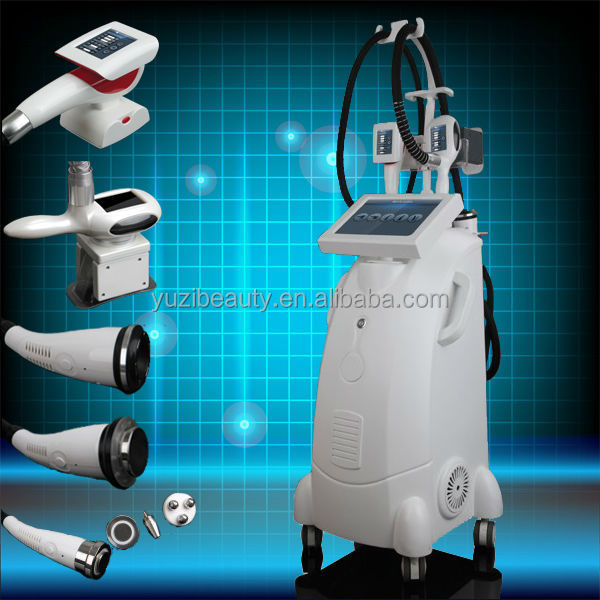 Zerona body shape + Cryotherapy+Vacuum RF Roller Vacu Shape machine best