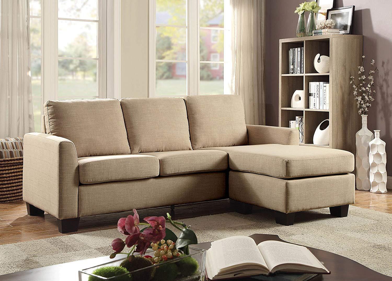 Buy Esofastore Sectional Simple Chic Modern Sleeper Sofa