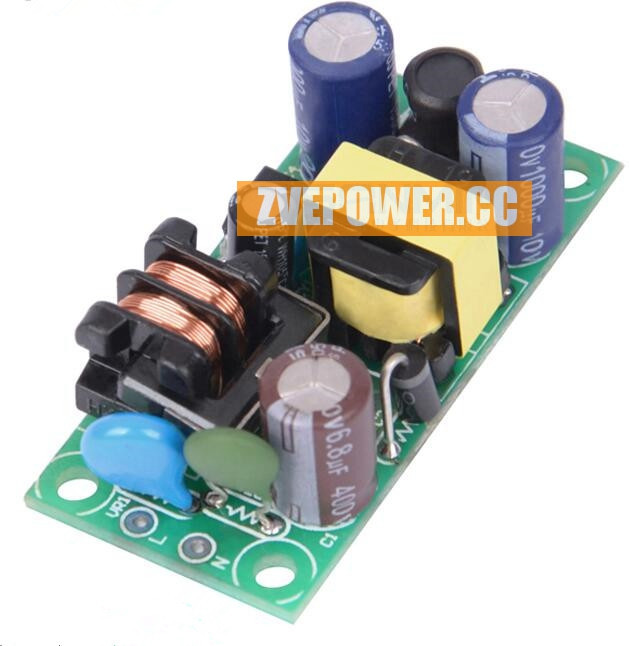 AC-DC 85~265V to 12V Switching Power 12V 500MA 6W Isolated Switching Power Supply Module Buck Converter