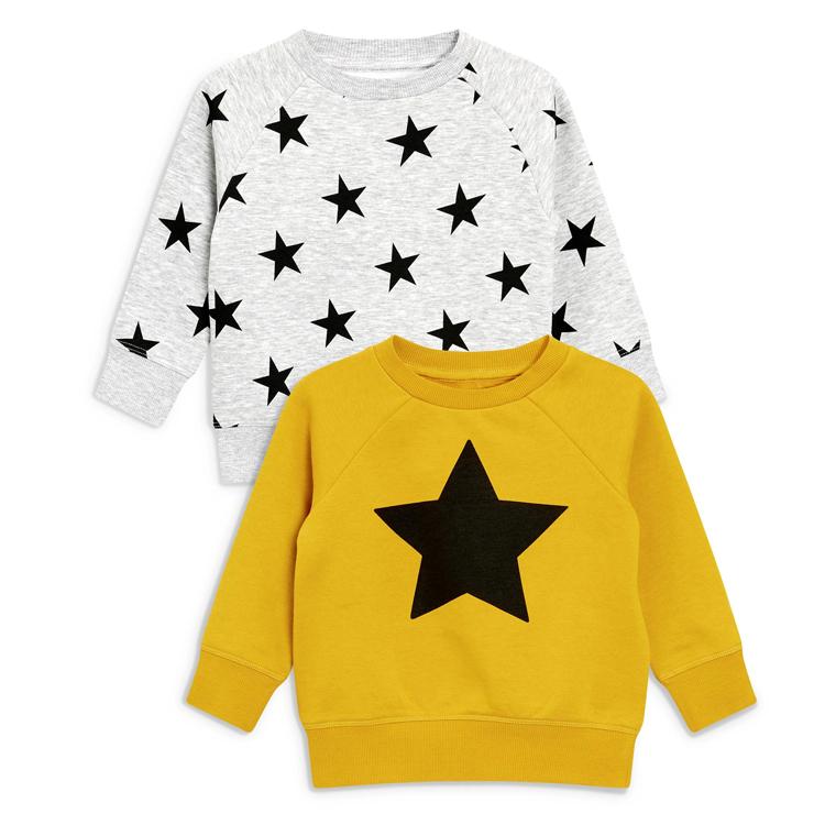 Importazione dei ragazzi pullover con cappuccio di cotone morbido di inverno felpa per bambini