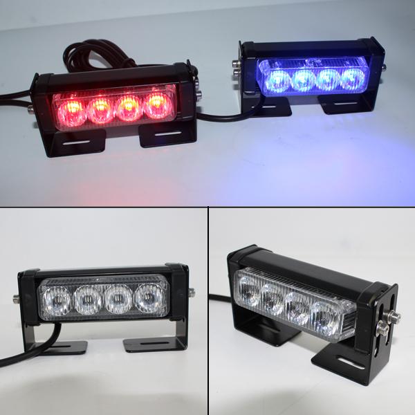 Police Led Warning Strobe Light Car Led Flashing Light For Front Grille Net  Led Headlight Tbe-168-1-1c4 - Buy Police Led Warning Strobe Light,Police