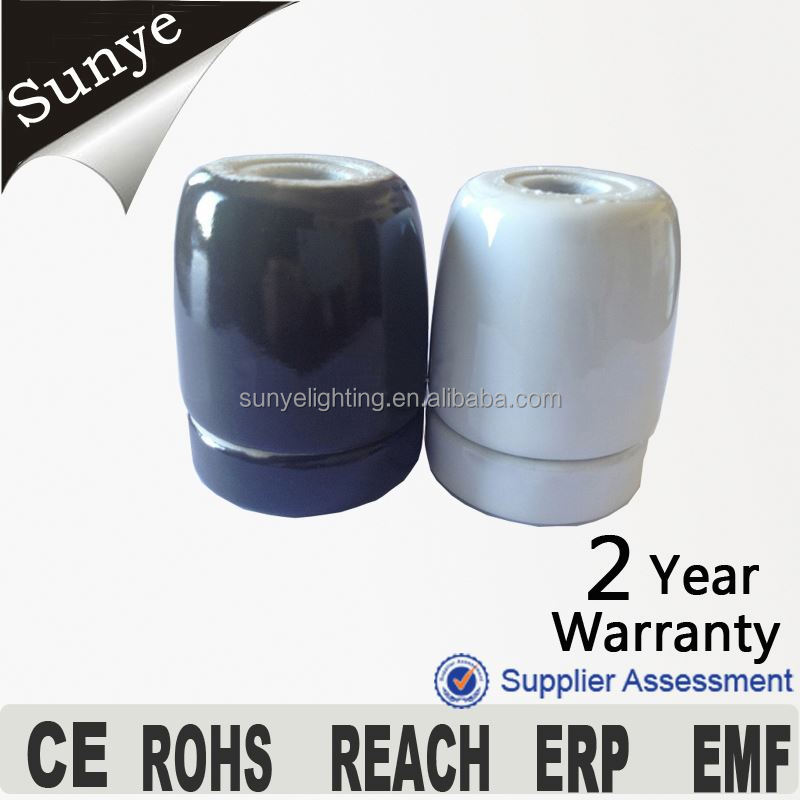 CE, VDE,SAA, RoHS, E27 Light Socket ,Bulb holder,double spotlight holder