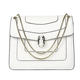 New Female Chain Retro Enamel Snake Head Bag PU Leather Shoulder Bag