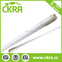 150lm/w LED T8 tube lights system efficiency 1.2M 1200mm 18w electronic ballast compatible