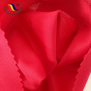 Breathable Decoration Shirting 100 Polyester Pique bird eye Fabric