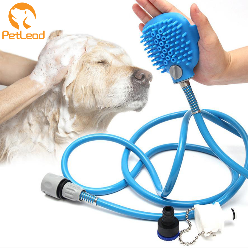 Pet Dog Bathing Water Cleaner Massage brush glove Pet Bathing